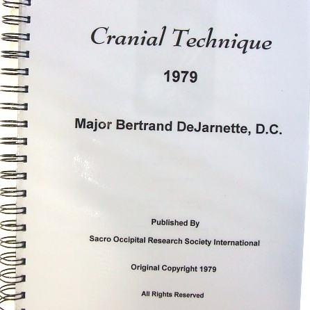 Cranial Technique - 1979 Manual