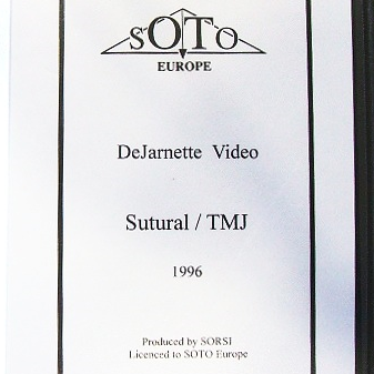 De Jarnette Sutural/TMJ Lecture for SOTO E - 1996 (Video)